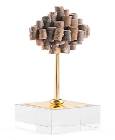 CLOSEOUT! Zuo  Small Brown Stone Pedestal