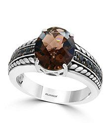 EFFY® Smoky Quartz (3 1/4 ct.t.w.) Ring in Sterling Silver