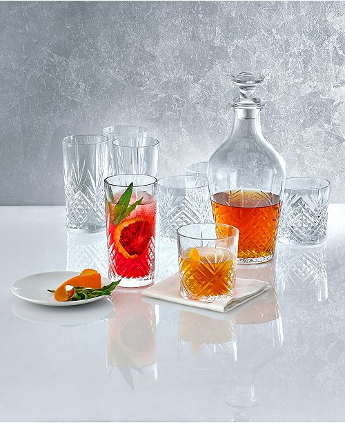 Martha Stewart Collection Cut Glassware