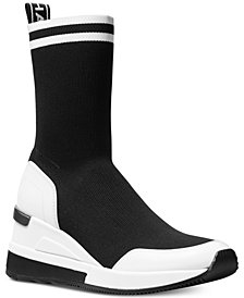 MICHAEL Michael Kors Grover Knit Sneaker Booties