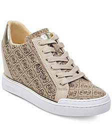 GUESS Women's Flowurs Wedge Sneakers
