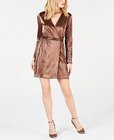 LEYDEN Mini Wrap Dress