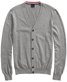 Tommy Hilfiger Adaptive Men's Signature Cardigan with Magnetic Buttons