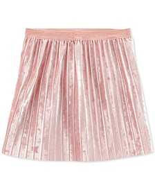 Carter's Little & Big Girls Pleated Velvet Skirt