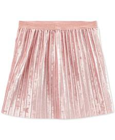 Carter's Little & Big Girls Pleated Velvet Skirt