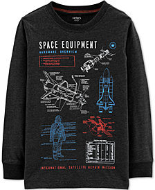 Carter's Little & Big Boys Space Equipment Graphic T-Shirt