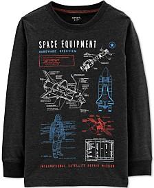 Carter's Little & Big Boys Space Equipment Graphic T-Shirt