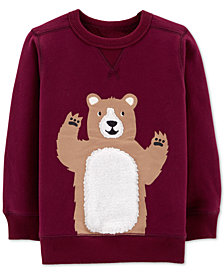 Carter's Toddler Boys Bear Graphic Sweatshirt