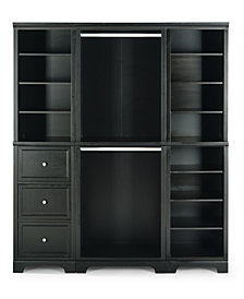Home Styles Bedford Drawer Closet Wall Unit