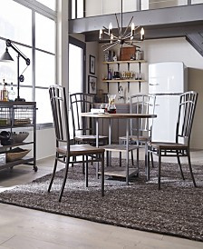 Home Styles Barnside Metro 5 Pc Dining Set