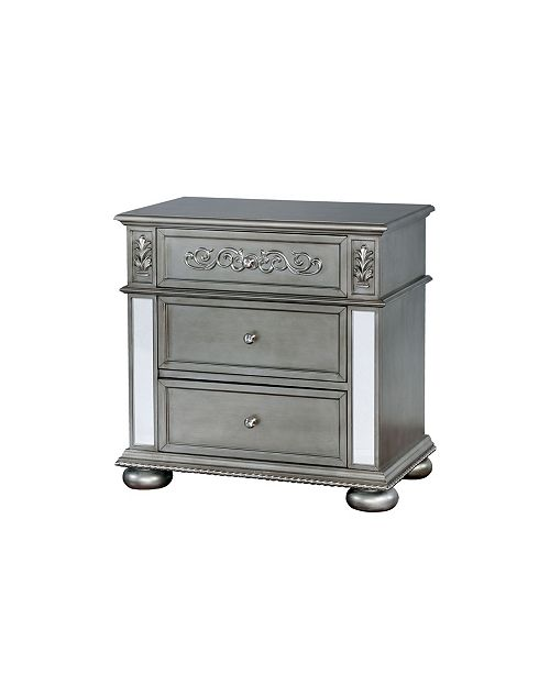 Furniture of America Rollin Traditional Nightstand