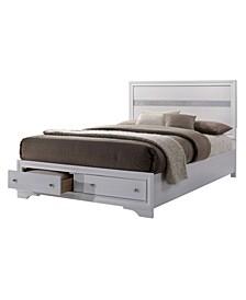 Laren Contemporary Queen Bed