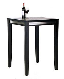 Home Styles Manhattan Black Pub Table