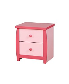 Devon 2-drawer Nightstand