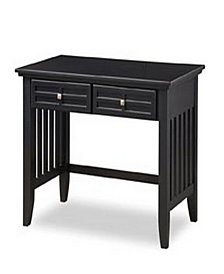 Home Styles Arts and Crafts Black Student Desk