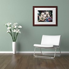 "Jenny Newland 'Lovable Westies' Matted Framed Art, 11"" x 14"""