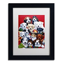 """Jenny Newland 'Picture Day' Matted Framed Art, 11"""" x 14"""""""