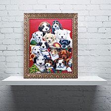 Jenny Newland 'Picture Day' Ornate Framed Art
