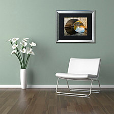 Michael Blanchette Photography 'Picture in Picture' Matted Framed Art