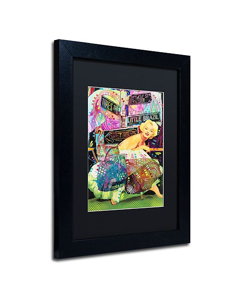 """Trademark Global Dean Russo 'Marilyn In NYC' Matted Framed Art, 11"""" x 14"""""""