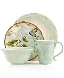 Dinnerware, Toulouse Green Collection
