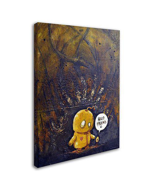 "Trademark Global Craig Snodgrass 'Hello Friend' Canvas Art, 24"" x 32"""