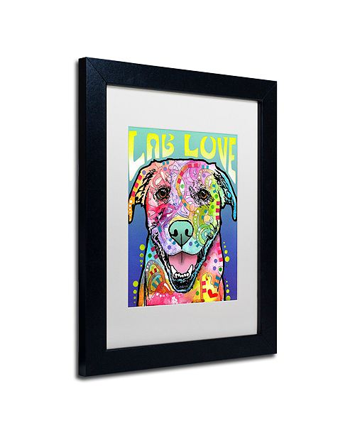 "Trademark Global Dean Russo 'Lab Love' Matted Framed Art, 11"" x 14"""