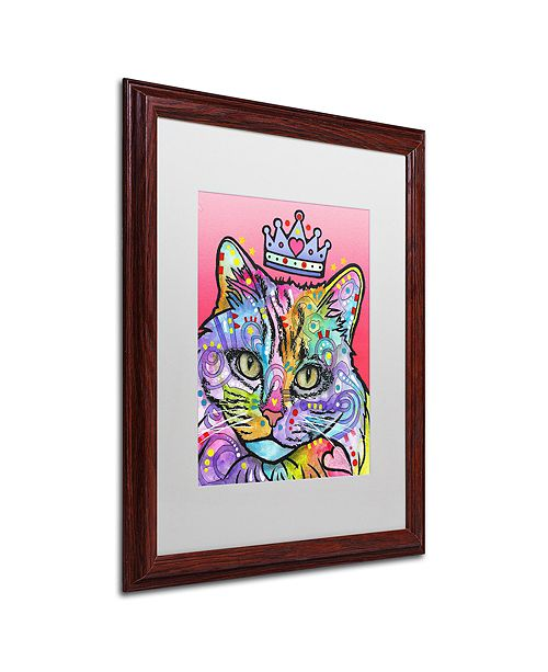 "Trademark Global Dean Russo 'Love Cat 5' Matted Framed Art, 16"" x 20"""