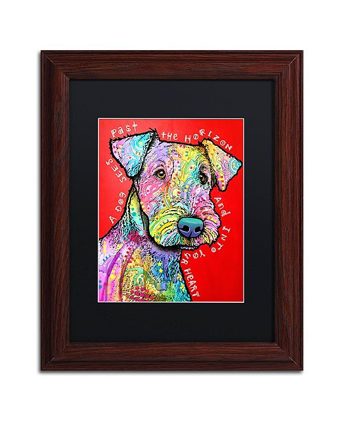 "Trademark Global Dean Russo 'Into Your Heart' Matted Framed Art - 11"" x 14"""