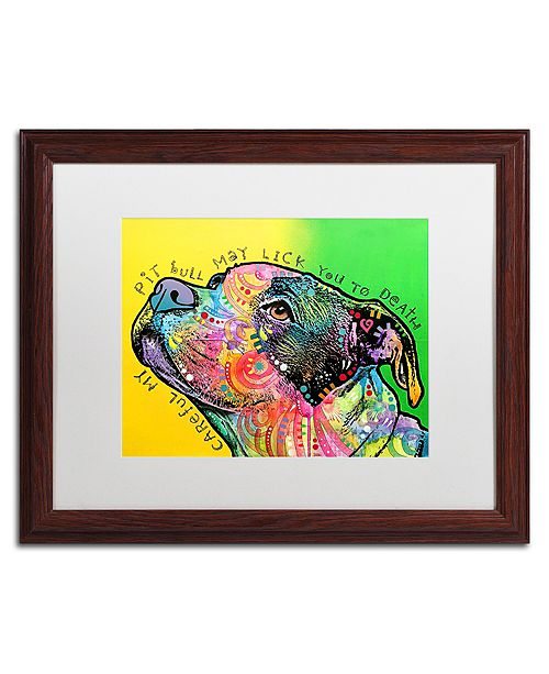 """Trademark Global Dean Russo 'Lick You to Death' Matted Framed Art - 16"""" x 20"""""""