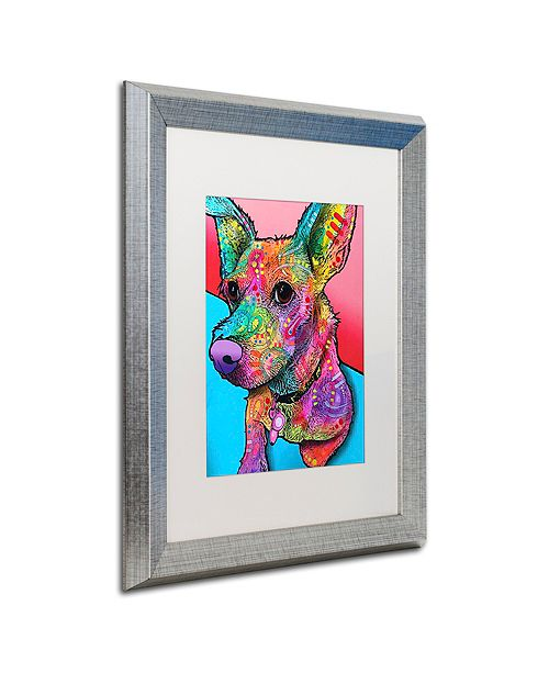 "Trademark Global Dean Russo 'Jack' Matted Framed Art, 16"" x 20"""