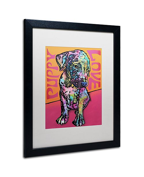"Trademark Global Dean Russo 'Puppy Love' Matted Framed Art, 16"" x 20"""