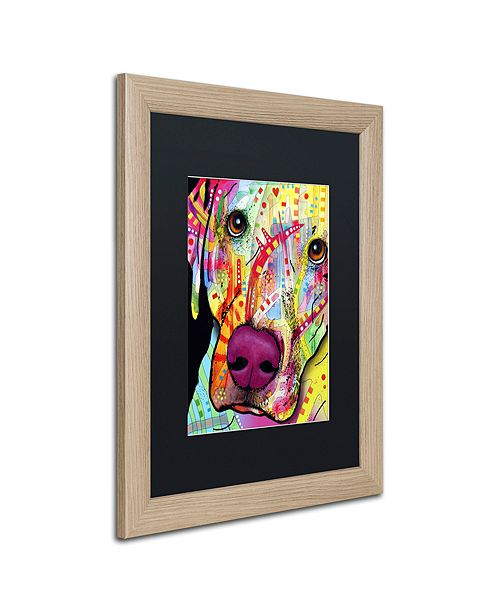 """Trademark Global Dean Russo 'Close Up Lab' Matted Framed Art, 16"""" x 20"""""""