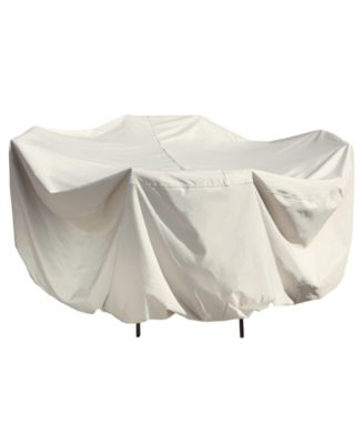 """Outdoor  Patio Furniture Cover, 60"""" Round Table & Chairs, Quick Ship"""