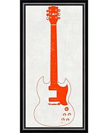 Guitar Collector III  Framed Art Print