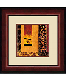 Amanti Art African Studies I Framed Art Print