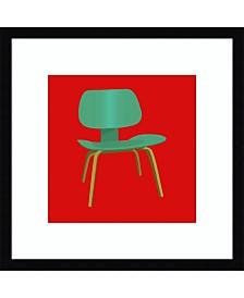 Amanti Art Mid Century Chair III Framed Art Print