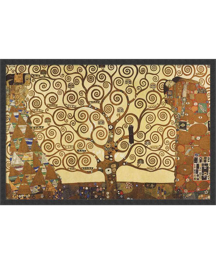 Amanti Art - The Tree of Life, 1905-1911 by Gustav Klimt- 37x25 Framed Art Print