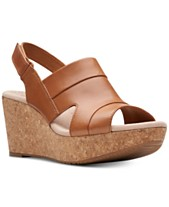 575cf286422 Clarks Collection Women s Annadel Ivory Wedge Sandals