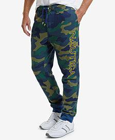 Nautica Men's Camo-Print Jogger Pants