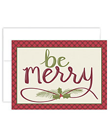 Masterpiece Studios Be Merry Holiday Boxed Holiday Cards