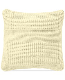 "CLOSEOUT! Charter Club Damask Designs Multi-Knit 20"" Square Decorative Pillow, Created for Macy's"