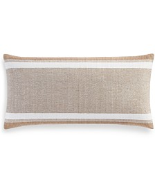 """Hotel Collection Lateral 12"""" x 24"""" Decorative Pillow, Created for Macy's"""