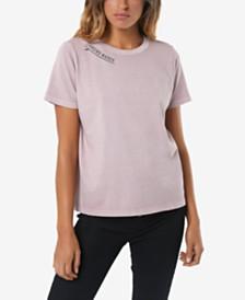O'Neill Juniors' Cotton Chasing Waves Graphic-Print T-Shirt