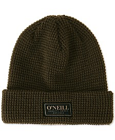 O'Neill Men's Token Cuffed Waffle-Knit Beanie