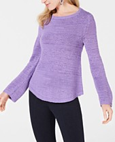 aefeca1497 Style   Co Mixed-Stitch Crew-Neck Sweater