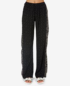 O'Neill Juniors' Kasey Printed Soft Pants