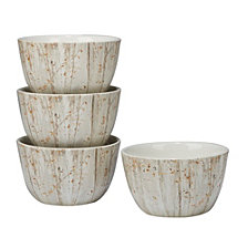 Certified International A Woodland Walk 4-Pc. Ice Cream Bowl