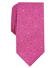 Perry Ellis Men's Saxon Classic Dot Tie