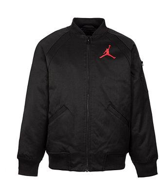 346be8a2a643ad Jordan Little Boys Wings MA-1 Jacket   Reviews - Coats   Jackets - Kids -  Macy s